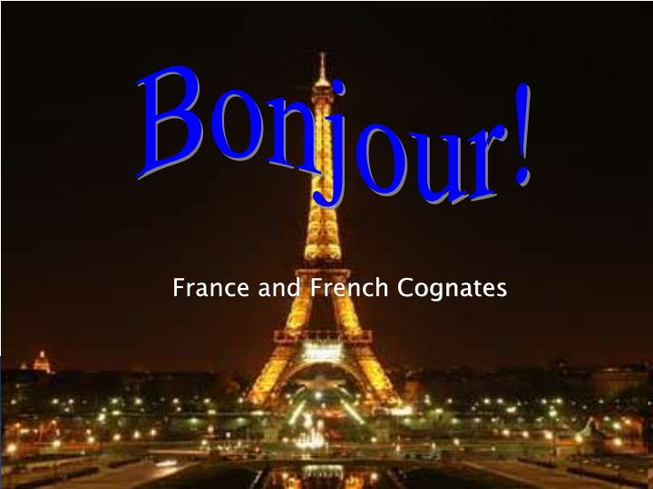 france and french cognates n.