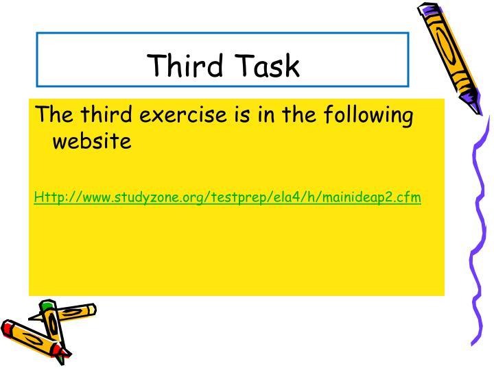 Third Task
