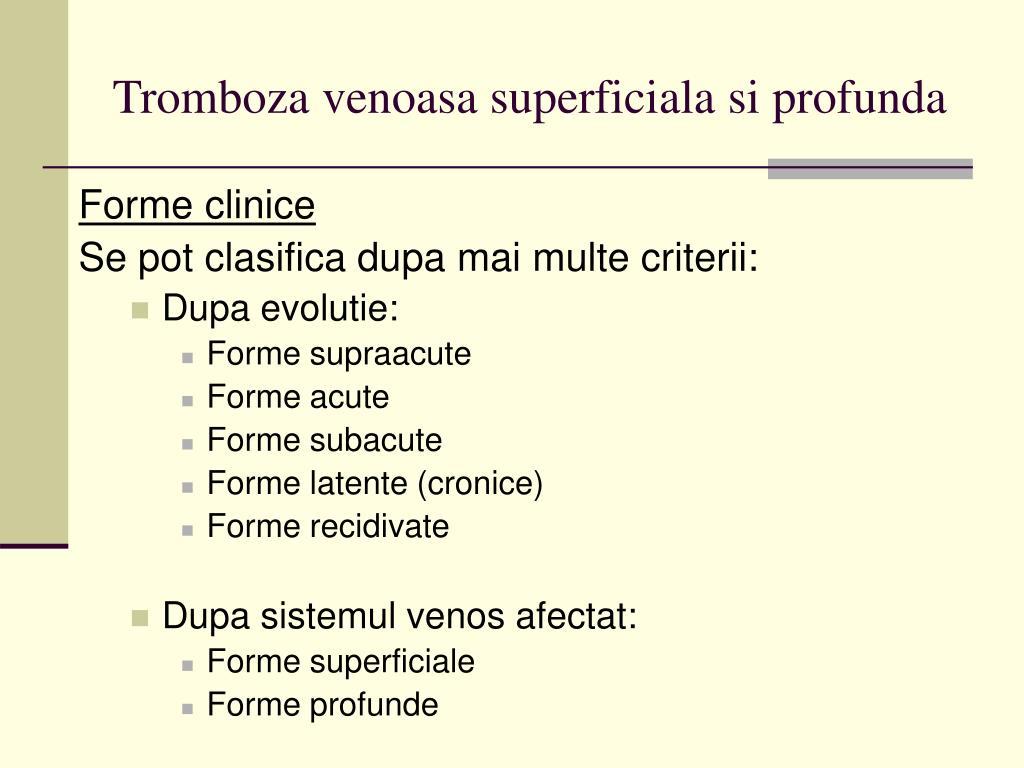 etapele și formele de varicoză