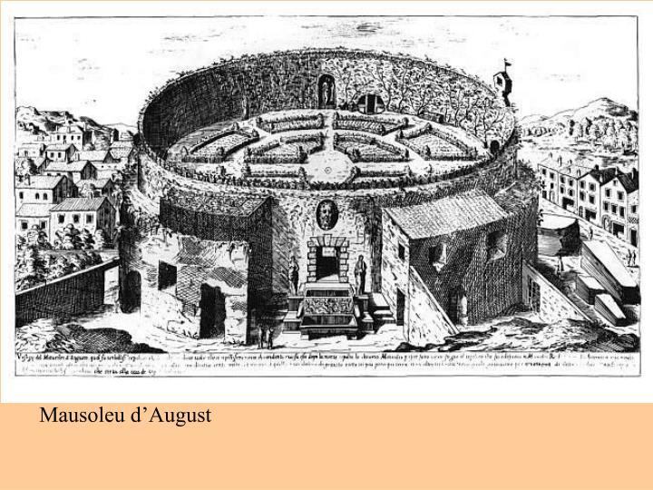 Mausoleu d'August