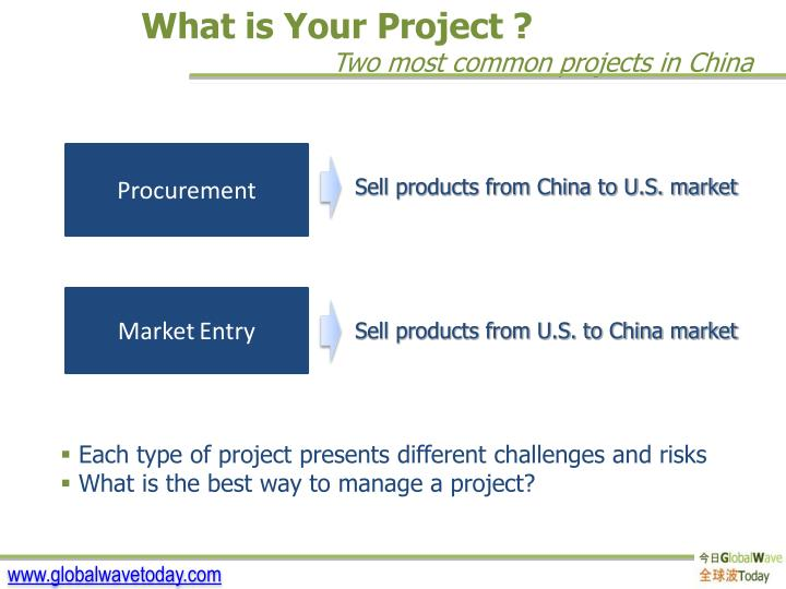 What is Your Project ?