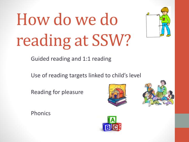 How do we do reading at ssw