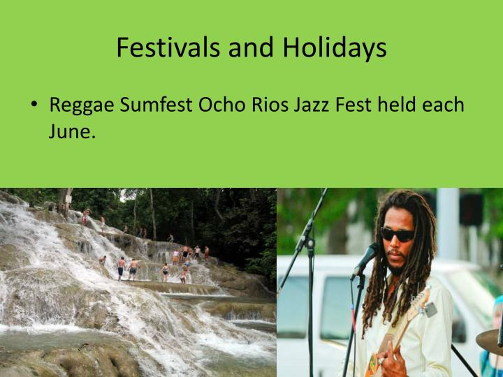Festivals and Holidays