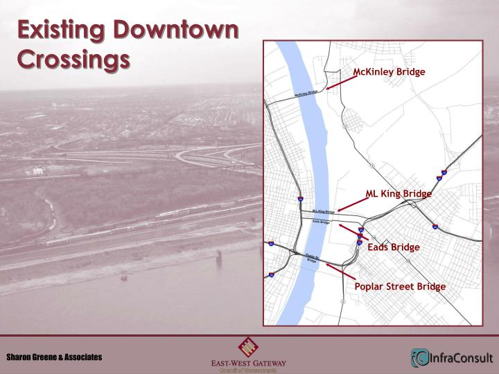 Existing Downtown Crossings