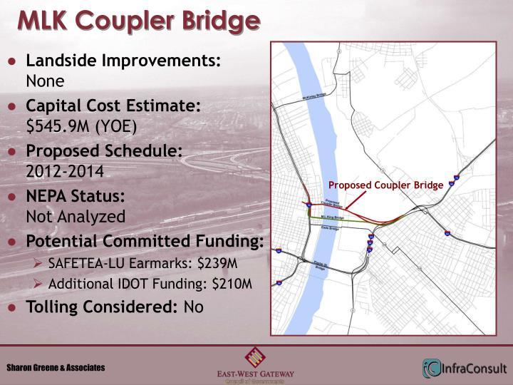 MLK Coupler Bridge
