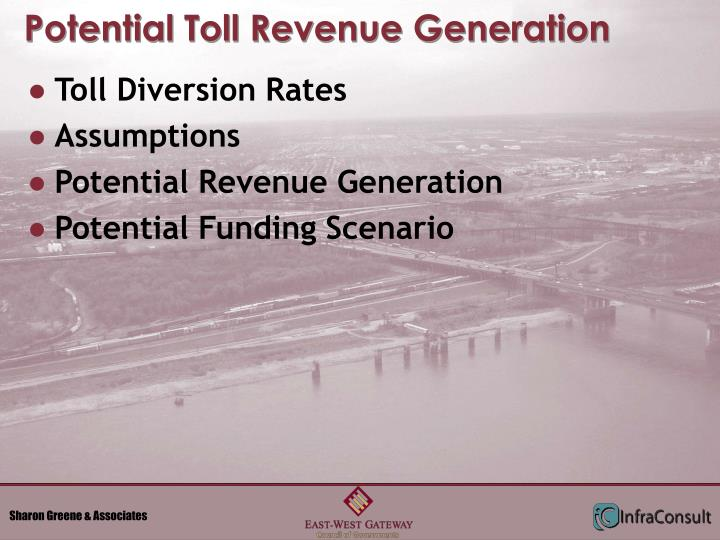 Potential Toll Revenue Generation