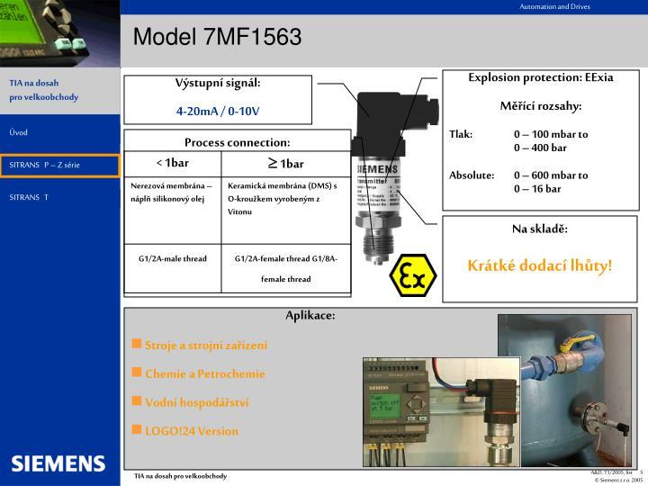 Model 7MF1563