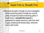 depth first vs breadth first