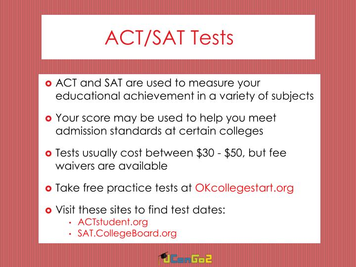 ACT/SAT Tests