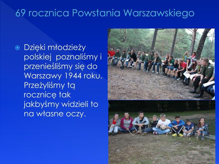 69 rocznica Powstania Warszawskiego