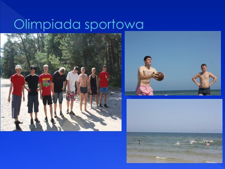 Olimpiada sportowa