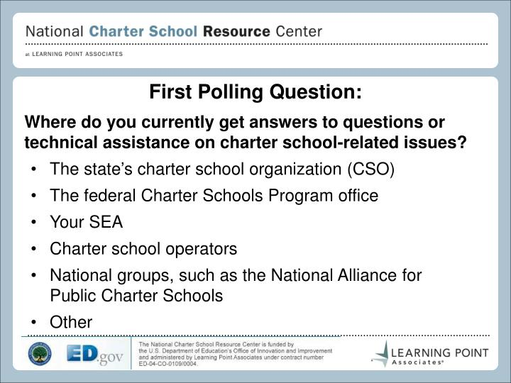 First Polling Question: