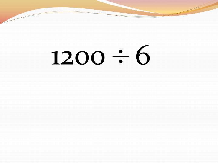 1200    6