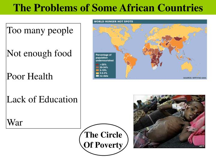 The Problems of Some African Countries