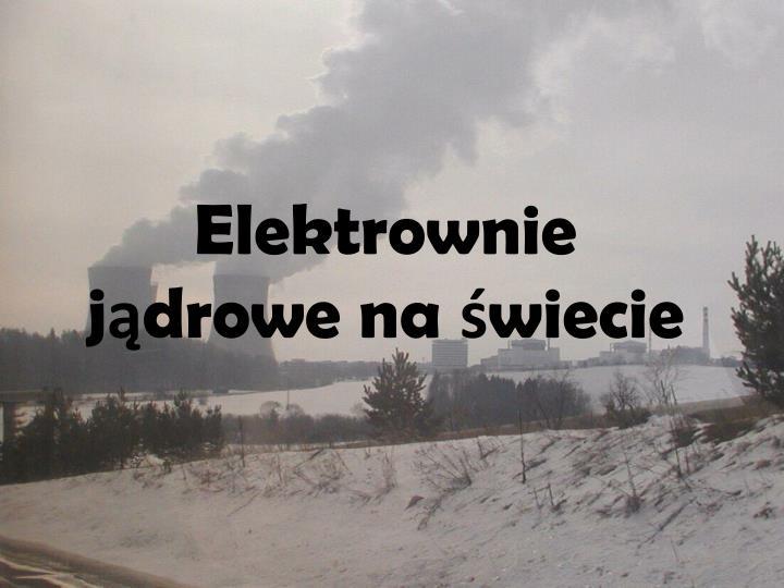 Elektrownie j