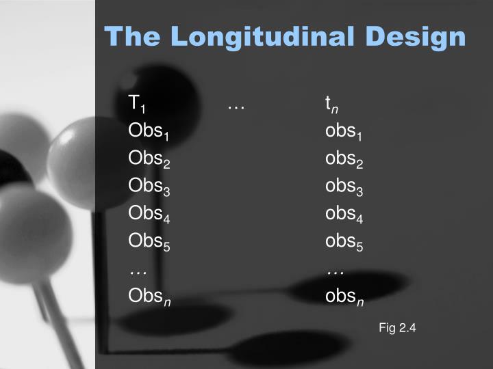 The Longitudinal Design