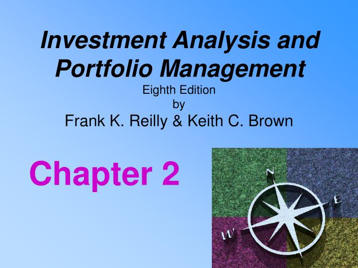 Investment analysis and portfolio management eighth edition by frank k reilly keith c brown