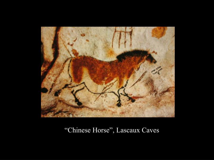 """""""Chinese Horse"""", Lascaux Caves"""