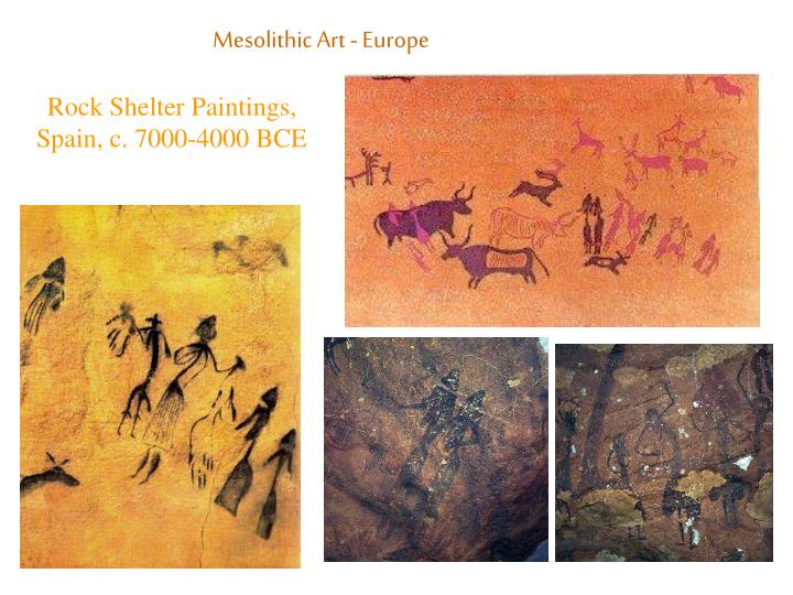Mesolithic Art - Europe
