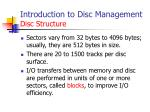 introduction to disc management disc structure2