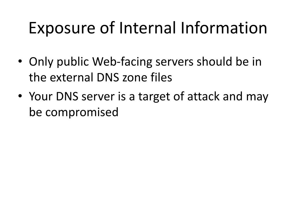 PPT - DNS Security PowerPoint Presentation - ID:5886075