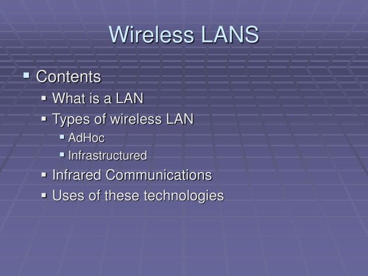 Wireless lans1