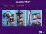 equipos wap2