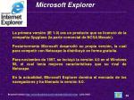 microsoft explorer
