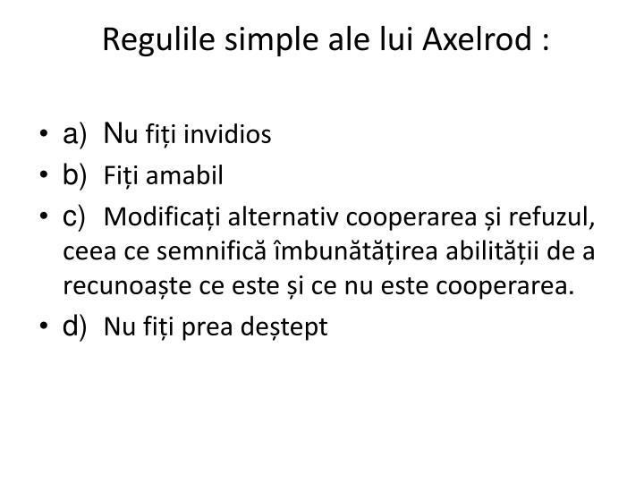Regulile