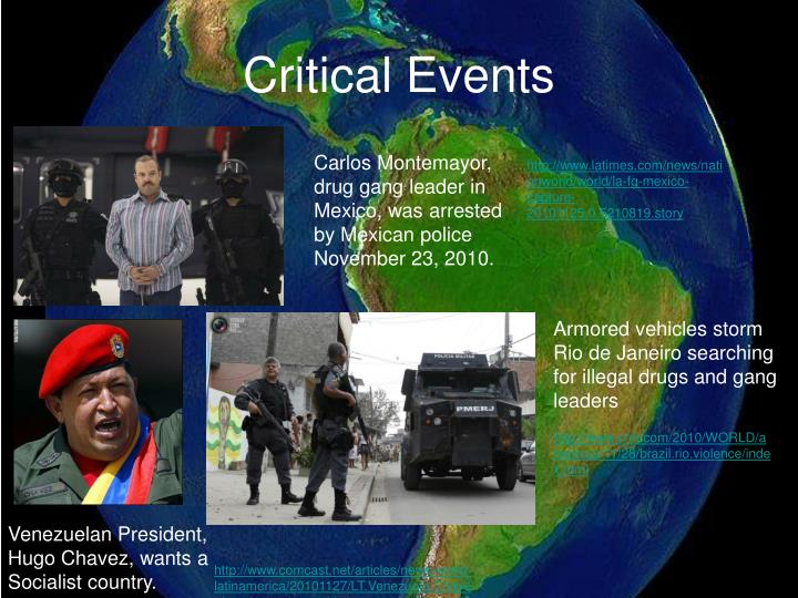 Critical Events