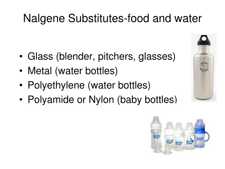 Nalgene Substitutes-food and water