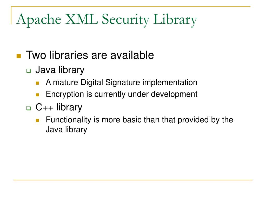 PPT - XML Encryption PowerPoint Presentation - ID:5887251
