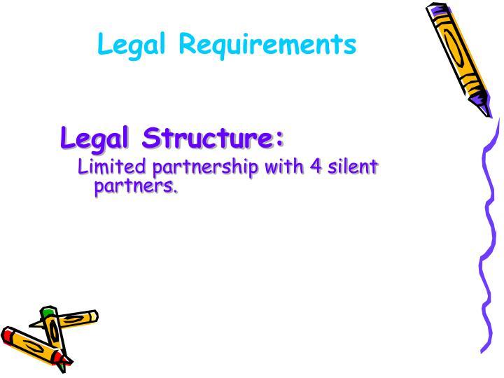 Legal Structure: