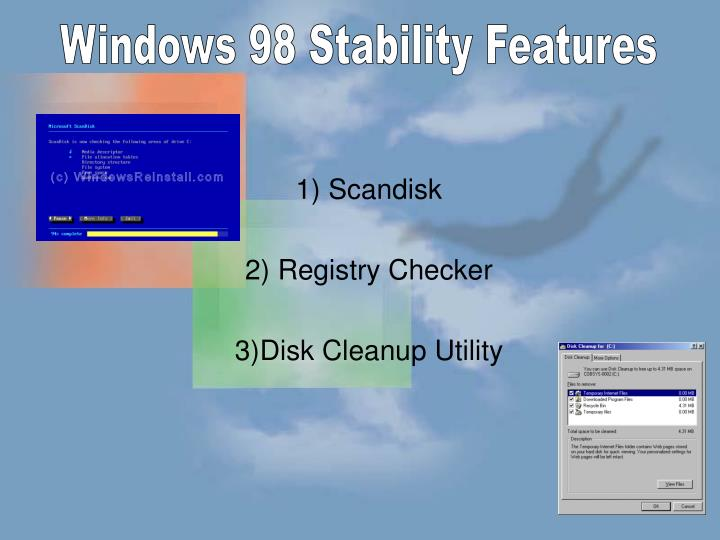 Windows 98 Stability Features