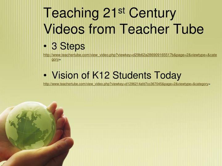 Teaching 21