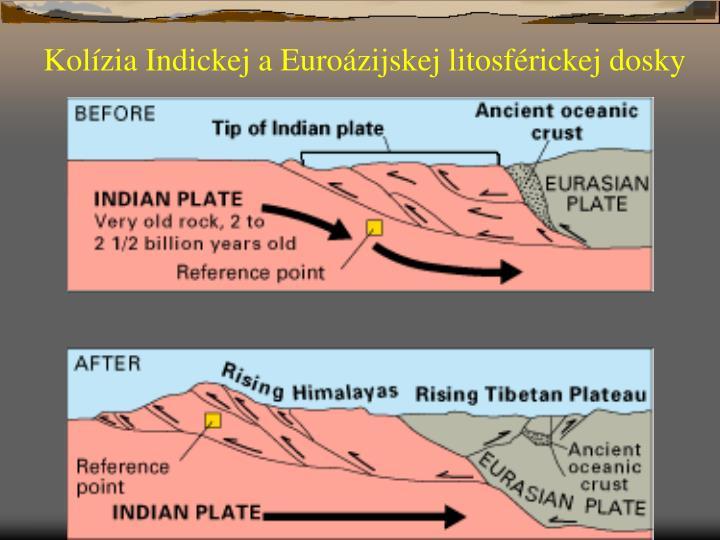 Kolízia Indickej a Euroázijskej litosférickej dosky