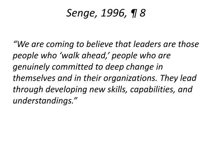 Senge, 1996, ¶ 8