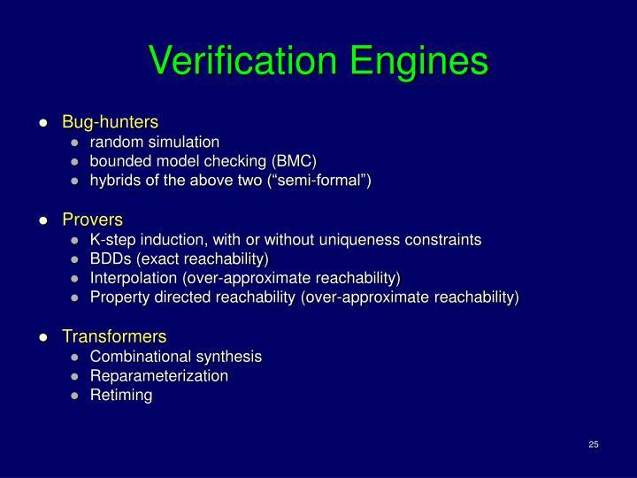 Verification Engines
