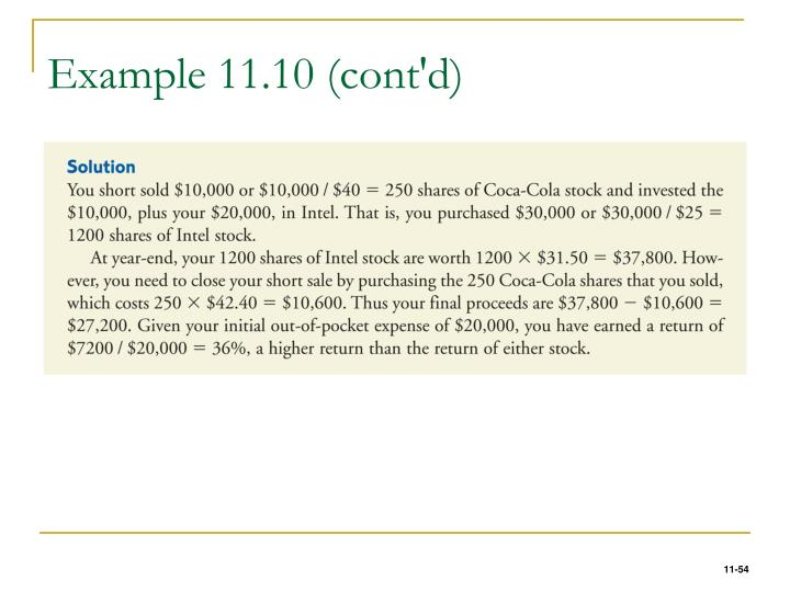 Example 11.10 (cont'd)
