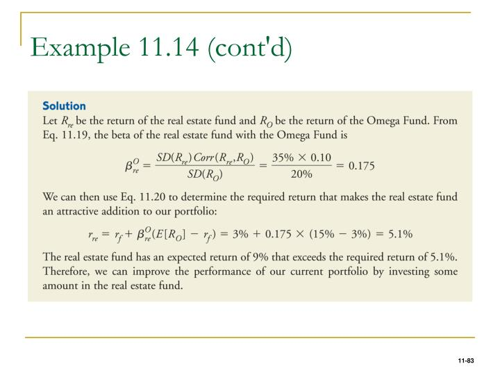 Example 11.14 (cont'd)