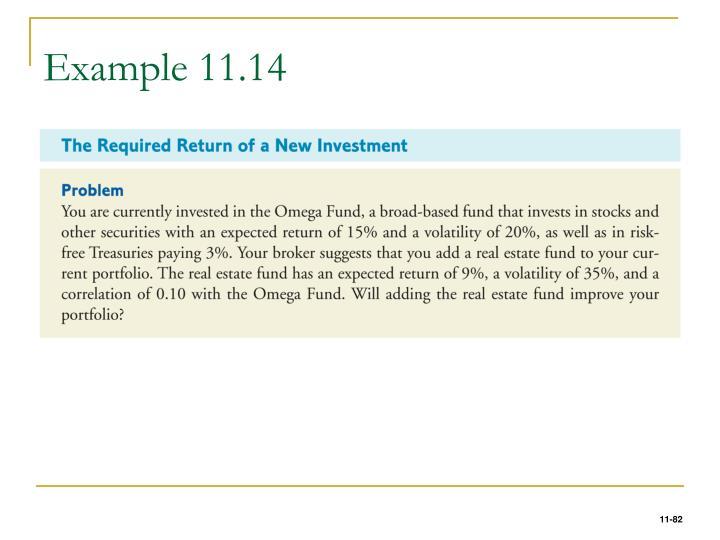 Example 11.14