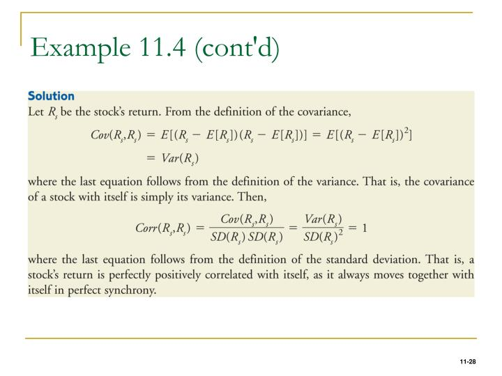 Example 11.4 (cont'd)