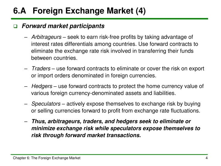 6.A	Foreign Exchange Market (4)