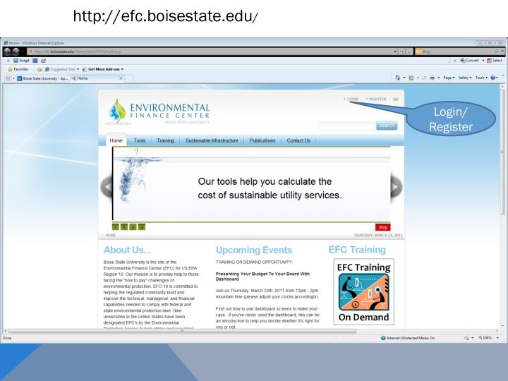 http://efc.boisestate.edu