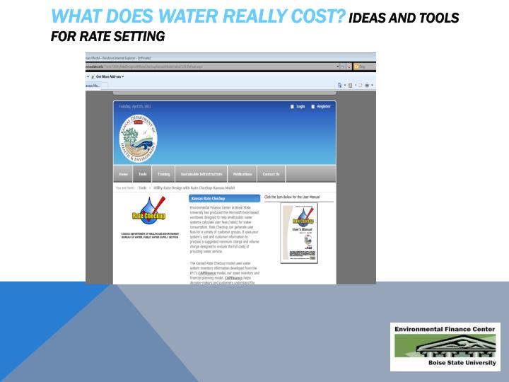 What Does Water Really Cost