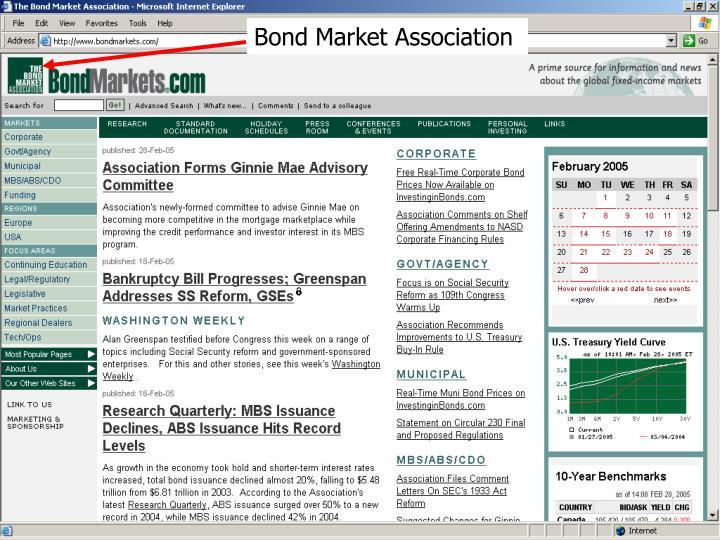 Bond Market Association