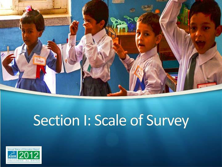 Section i scale of survey