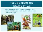 tell me about the wizard of oz