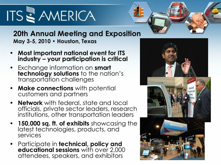 20th Annual Meeting and Exposition