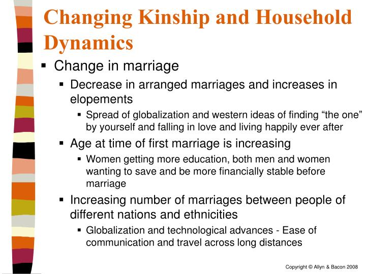 Changing Kinship and Household Dynamics